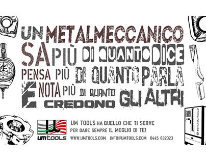 Pubblicità per UM TOOLS, Giornale di Vicenza