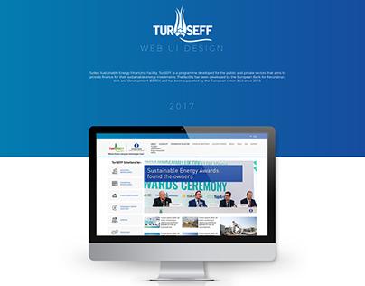 TurSEFF Web Site UI Design