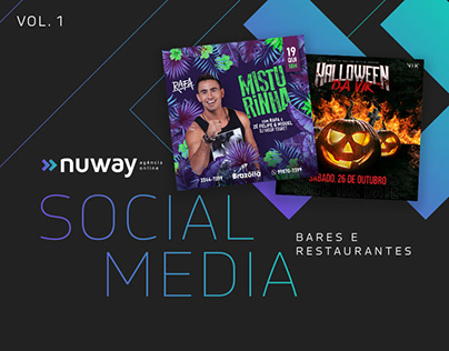 Social Media | Nuway | Bares e Restaurantes | VOL.1