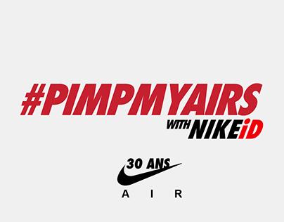 30ans AIR MAX - #PIMPMYAIRS with NIKEiD