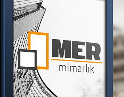 MER Mimarlık Logo Design
