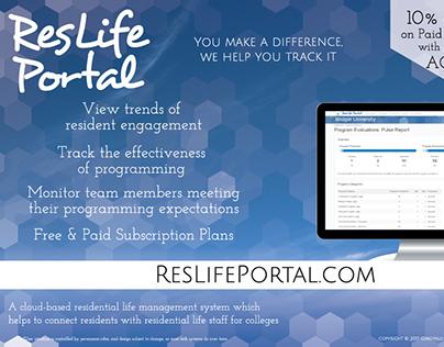 ResLife Portal - advertisements