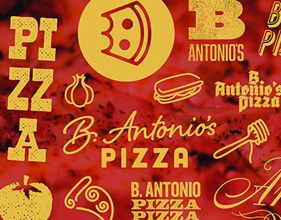 B. Antonio's Pizza - Logo & Branding
