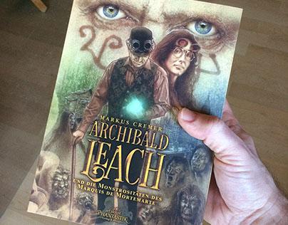 """Archibald Leach"" Book cover artwork"