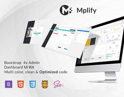 Mplify – Bootstrap 4x Admin