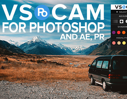 VSPO CAM Panel for Photoshop (Free Download)