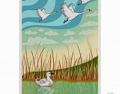 Ugly Ducking illustration