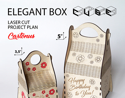 Elegant box cube