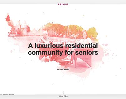 Primus: Luxurious community for seniors