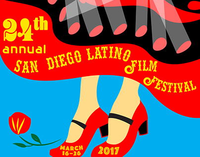 San Diego Latino Film Fest poster design submissions