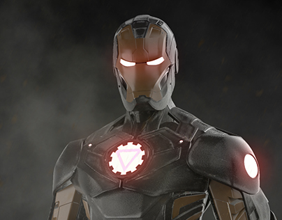 Marvel Now Iron Man model 40