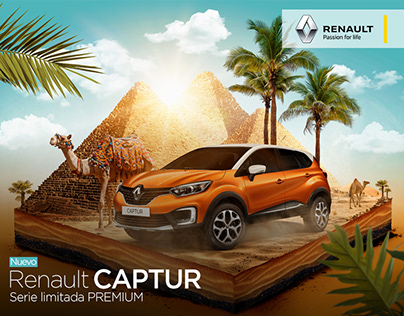 ADVERTISING RENAULT CAPTUR
