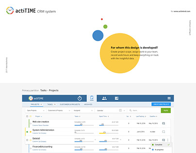 ActiTime CRM Task manager