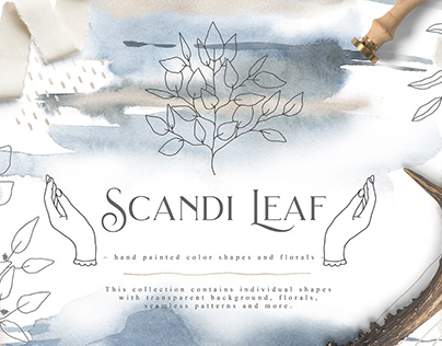 Scandi Leaf Collection