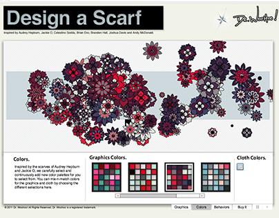 Design a Scarf: Generative Web Application