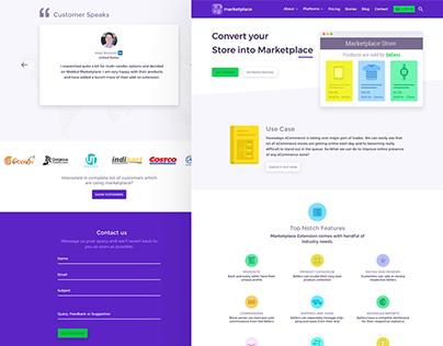 Marketplace Website Redesign - UX/UI