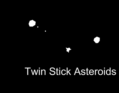 Game: Twin Stick Asteroids