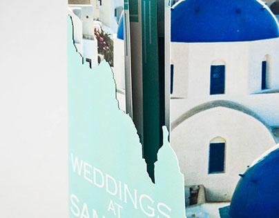 Santorini Wedding Brochure