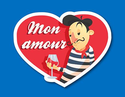 Paris Stickers - Viber Contest