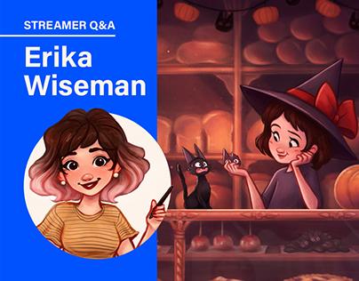 STREAMER Q&A: Erika Wiseman