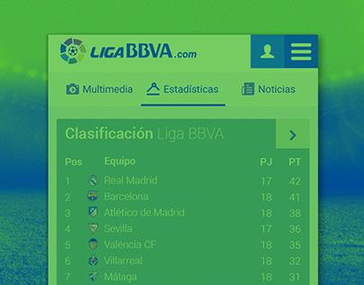 LigaBBVA | web