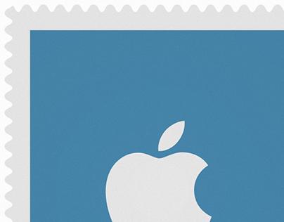 Social Stamps - Social Icon Set