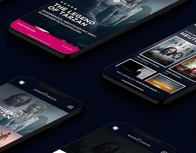STAR MOVIE App & Website