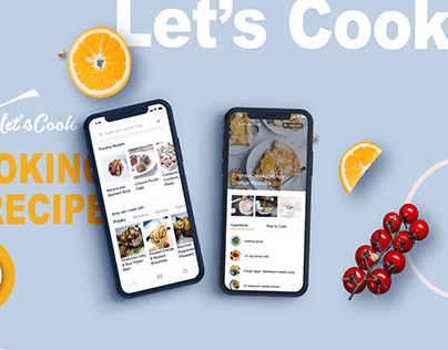 Let's Cook ( UI Design )