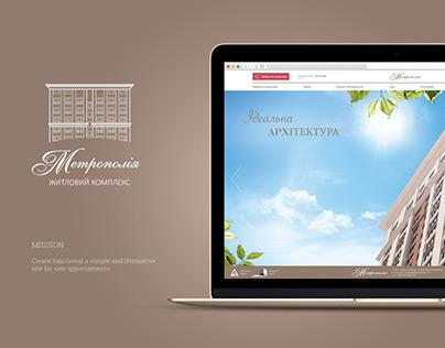 "Site for ""Metropoliya"""