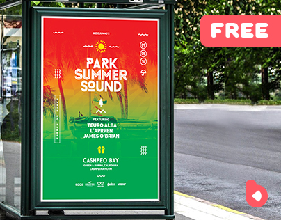 Summer Music Event - Free Flyer Template