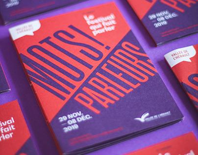 Mots Parleurs - Event Branding