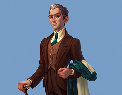Characters for Atlantis game
