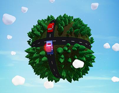 Little World: Car Chase