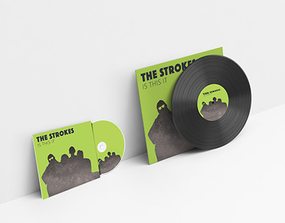 The Strokes CD Cover Redesign