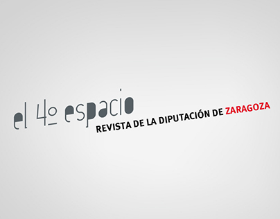 El 4º espacio. Revista de la Diputación de Zaragoza