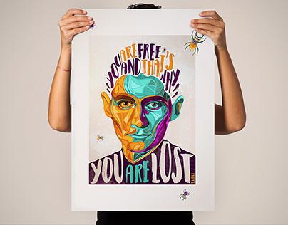F. Kafka Portrait