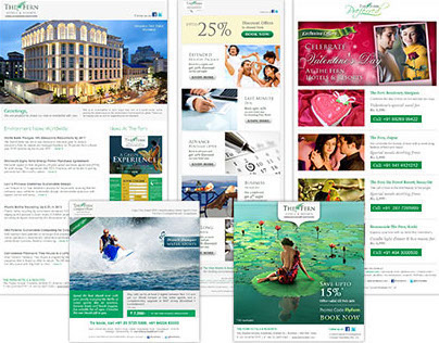 Fern Hotels, Mailers & Newsletters