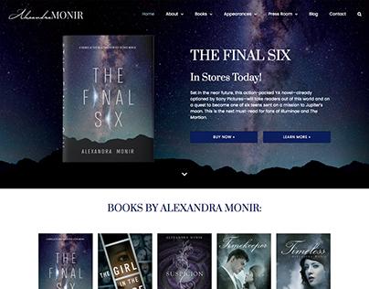 Author Website for Alexandra Monir