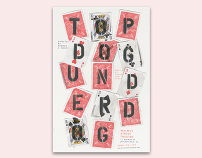 Topdog/Underdog Play Poster