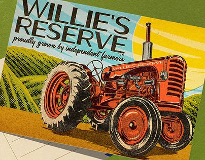 Willie's Reserve Postcard