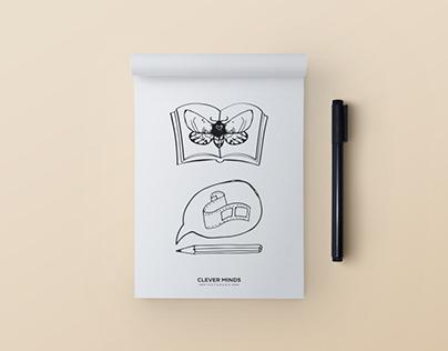 Ilustrace pro tematické diáře