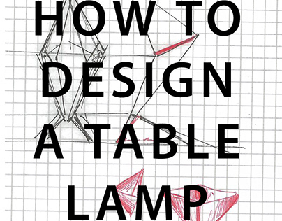 AURORA lamp - sketch&model, how to create a lamp