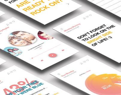 Aura   app design