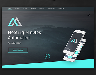 ASK AVA mobile application