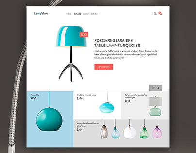 lamp Shop UI/UX