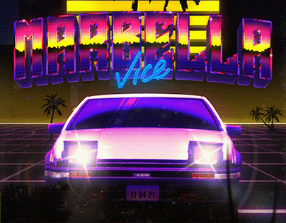 Marbella Vice Poster