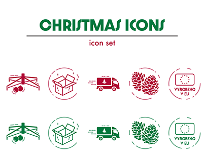 Created Icon Sets; for clients and personal projects