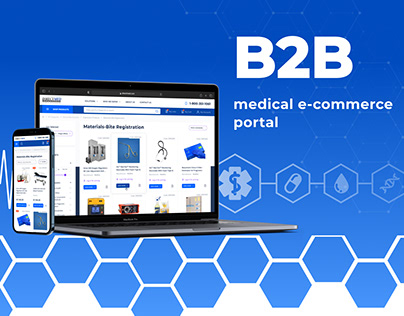 B2B Medical E-Commerce Portal