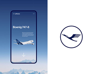 Lufthansa — Website concept