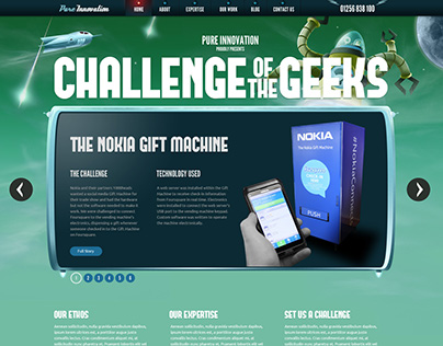Challenge Of The Geeks
